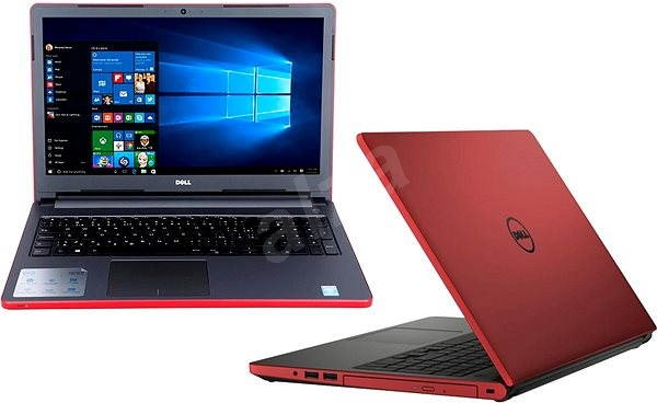 Dell Inspiron 15 (5000) red - Laptop