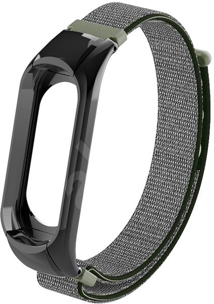 Eternico Mi band 2 Nylon Dark Olive - Watch band