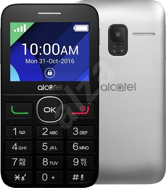 ALCATEL ONE TOUCH 2008G Black - Mobile Phone