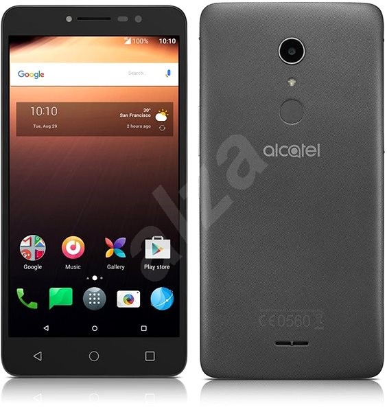 ALCATEL A3 XL Gray Silver - Mobile Phone
