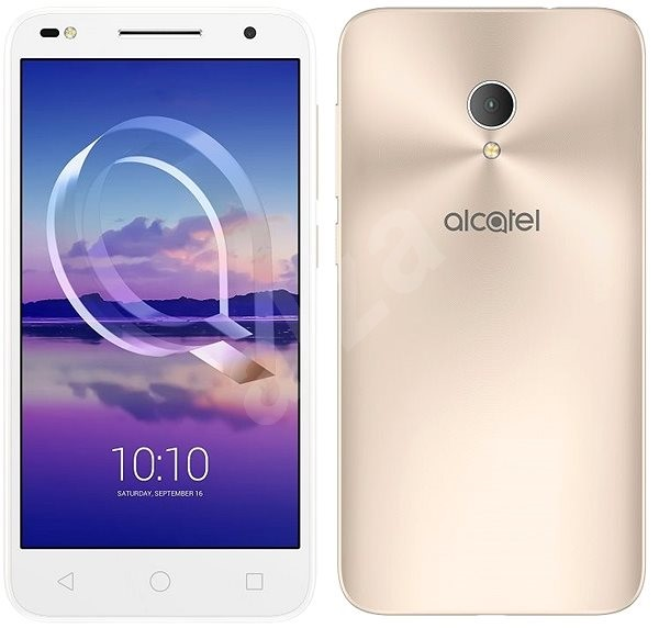 ALCATEL U5 HD Premium 5047U Metallic Gold - Mobile Phone