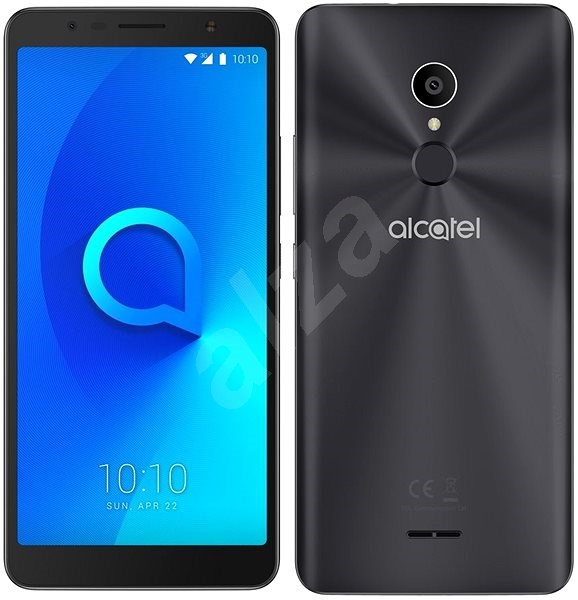 Alcatel 3C Metallic Black - Mobile Phone