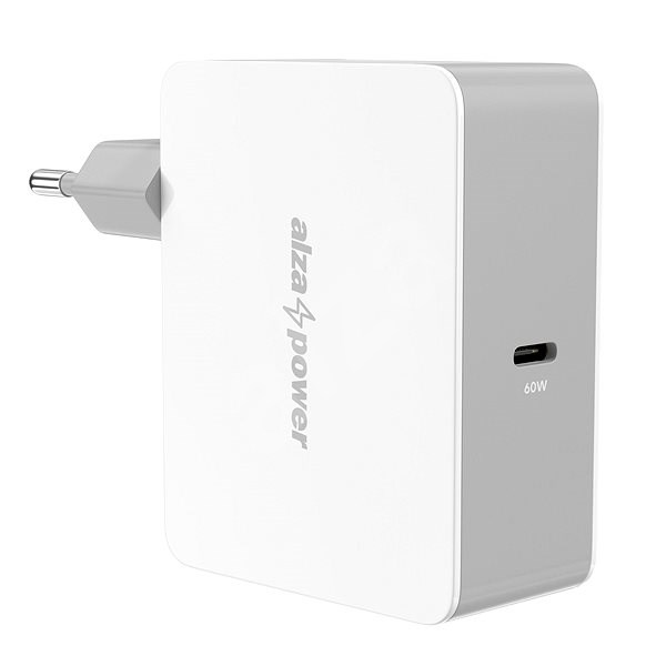 AlzaPower Power Charger PD60C White - AC Adapter