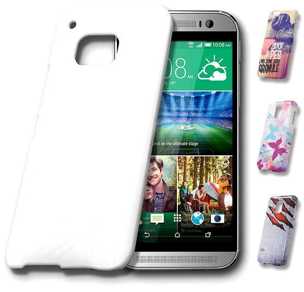Skinzone Customised Design Snap for HTC One M9 - Protective case in MyStyle