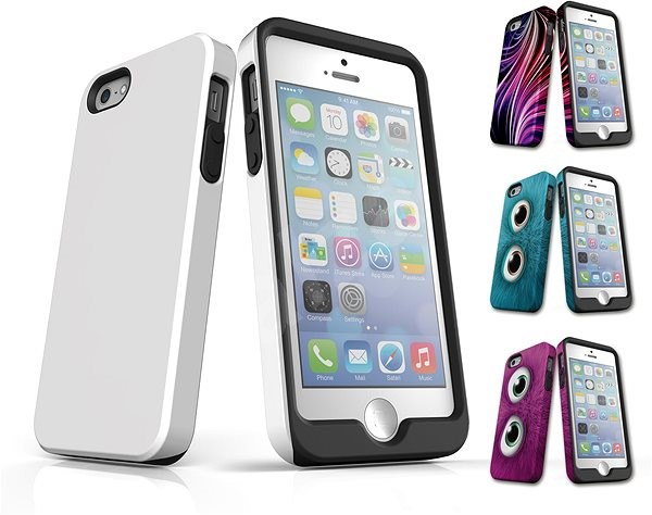 Skinzone has a Tough style for the iPhone 5/5S/SE - Protective case in MyStyle