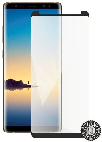 Screenshield SAMSUNG Galaxy Note 8 N950 Tempered Glass Protection (Full Cover - Black - Case Friendly) - Glass protector
