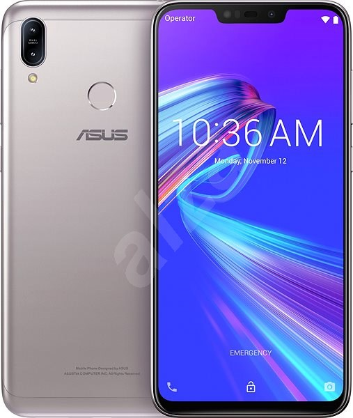 Asus ZenFone Max M2 Silver - Mobile Phone