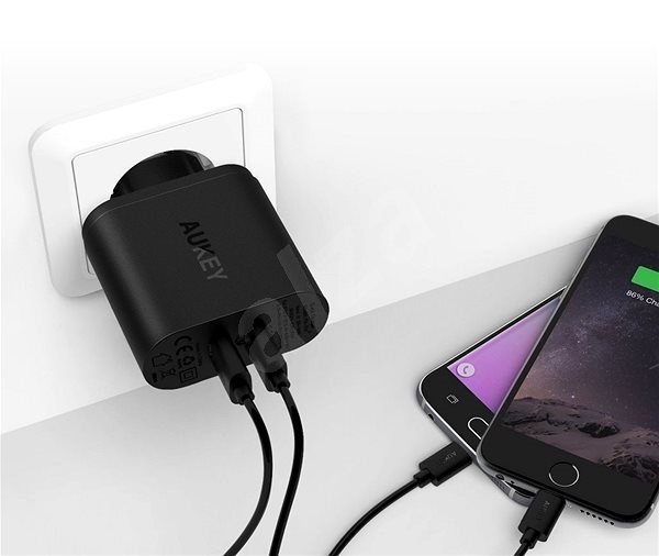 Aukey Quick Charge 3.0 2x USB - Charger
