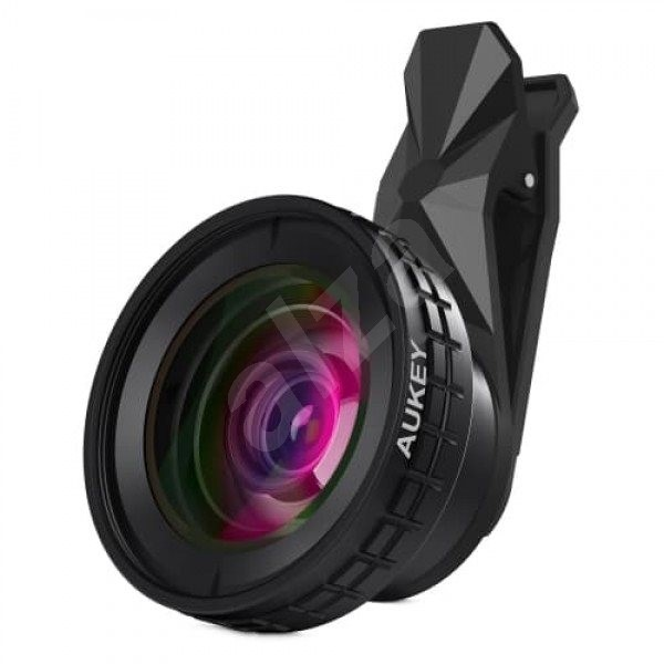 Aukey PL-WD07 Lens 2 in 1 - Mobile phone lenses