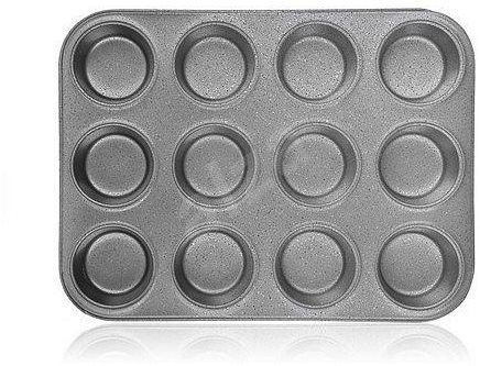 BANQUET 12 muffin form Non-stick surface GRANITE 35x26.5x3cm - Baking Mould