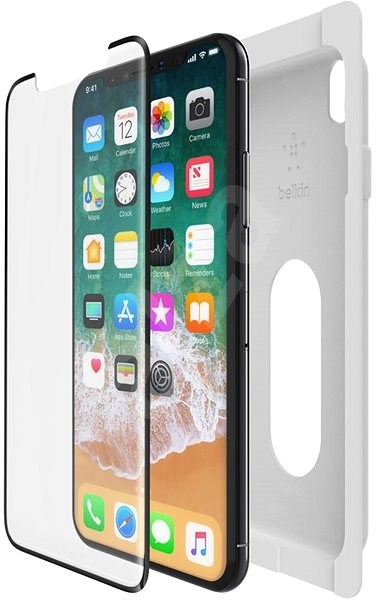 huge discount 6ef75 e047b Belkin F8W867zzBLK for iPhone X / XS clear - Glass protector | Alza ...