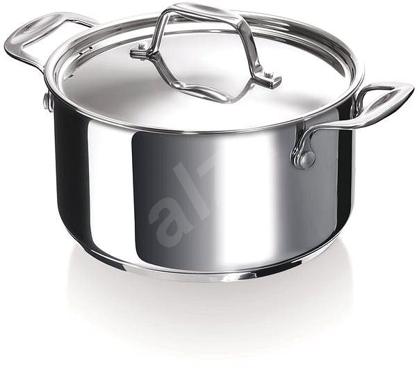 BEKA CHEF 16CM, STAINLESS STEEL, with Lid - Pot