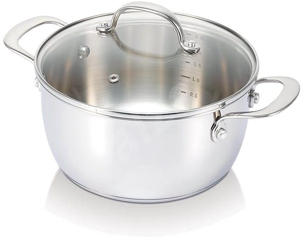 BEKA BELVIA 20CM, STAINLESS STEEL, with Lid - Pot