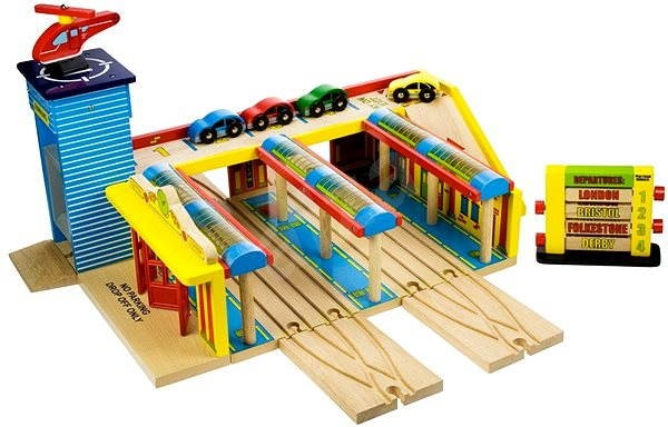 Bigjigs Grand Central Station - Rail set accessory