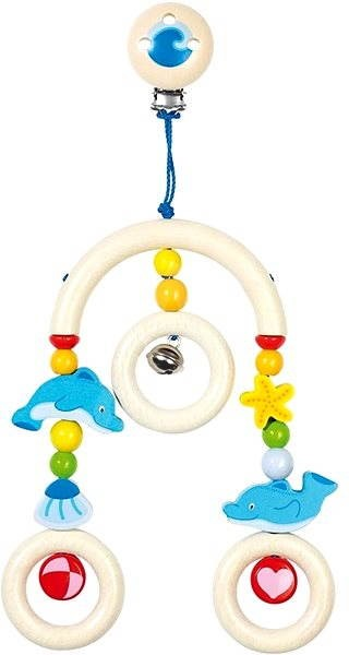 Small carousel Stroller - Dolphin  - Pushchair Toy