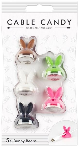 Cable Candy Bunny Beans 5 pieces of colour mix - Cable Management