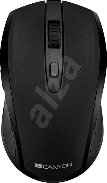 Canyon Bluetooth/Wireless Optical Mouse Black - Mouse