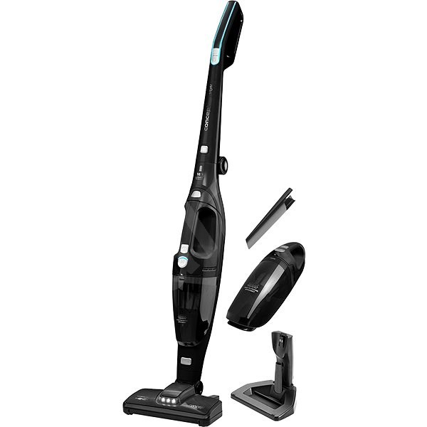 CONCEPT VP4140 Mighty 18 V Black - Upright Vacuum Cleaner