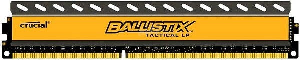 Crucial 8GB DDR3 1600MHz CL8 Ballistix Tactical LP - System Memory