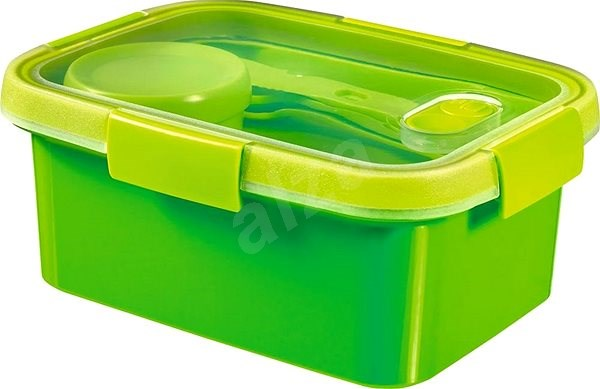 Curver SMART TO GO Lunch Kit 1.2l with cutlery, bowl and tray - green - Container