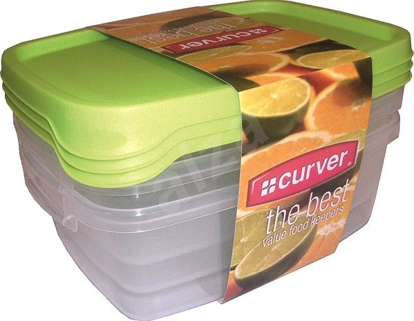 CURVER TAKE AWAY FOODK 3x 1.2L MIX - Food Container Set