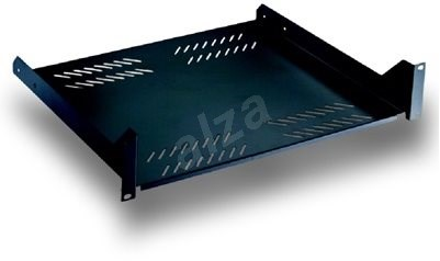 "Datacom 19"" Shelf with perforation 2U 400mm - Accessories"