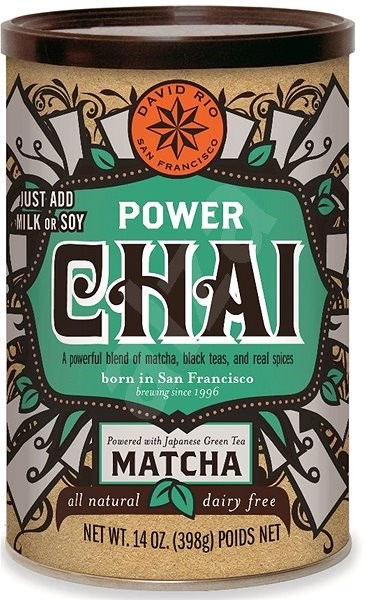 David Power Chai VEGAN,  398g - Syrup