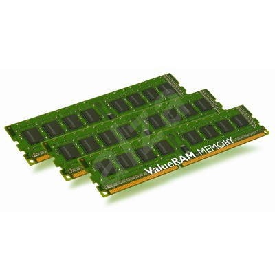 Kingston 3GB KIT DDR3 1333MHz CL9 ECC BOX - System Memory