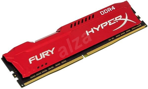HyperX 8GB DDR4 2666MHz CL16 Fury Red Series - System Memory