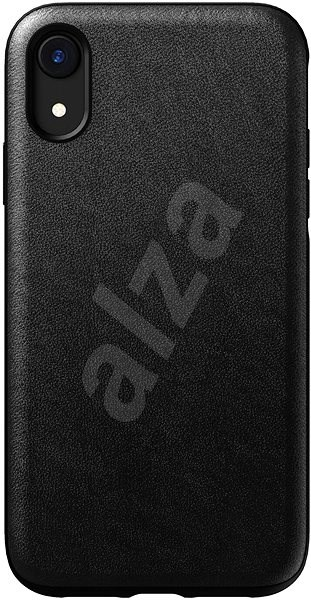 size 40 22e7a ba56f Nomad Rugged Leather Case Black iPhone XR