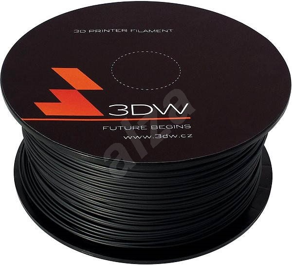 3D World PLA 1.75mm 0.5kg black - 3D Printing Filament