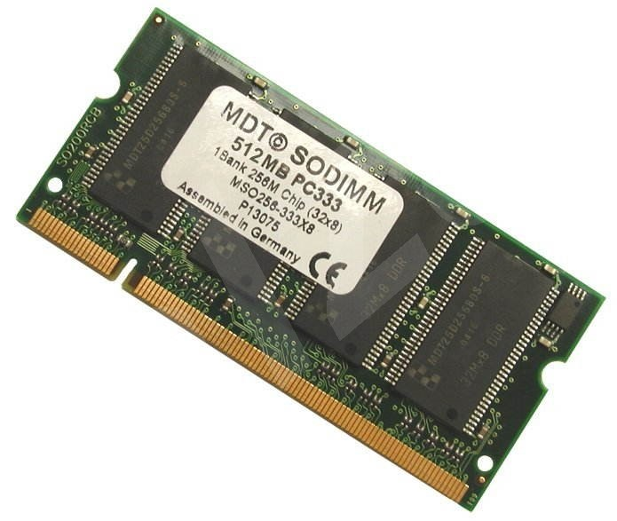 512MB SO-DIMM DDR 333MHz PC2700 200pin MDT (MICRON) -