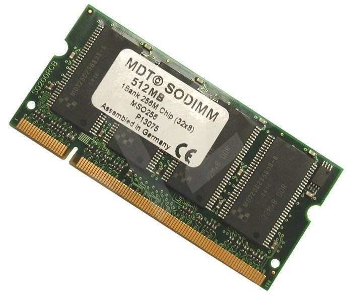 1GB SO-DIMM DDR 400MHz PC3200 200pin MDT (MICRON) -
