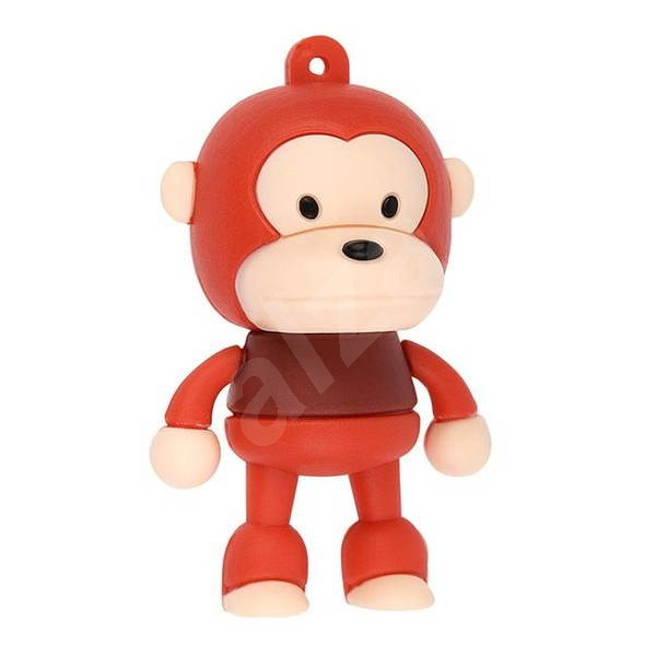 TRACER Monkey 4GB red - USB Flash Drive