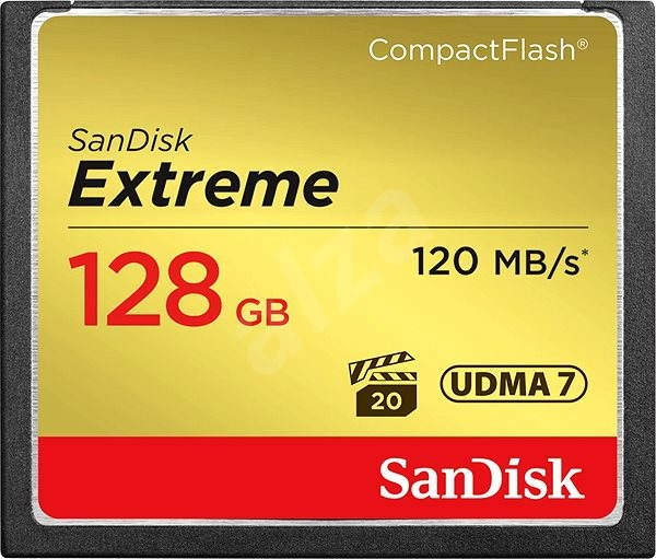 Sandisk Extreme Compact Flash 128GB - Memory Card