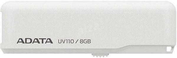ADATA UV110 8GB white - USB Flash Drive
