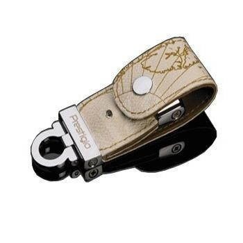 "PRESTIGIO FlashDrive Leather Luxury ""Limited Edition"" 16GB USB2.0 - white leather - USB Flash Drive"