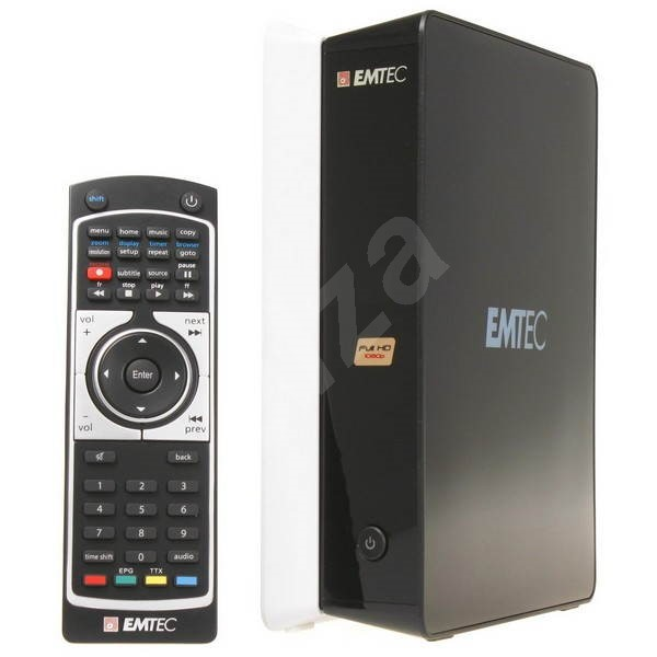 EMTEC Movie Cube S120H 750GB - Multimedia Player