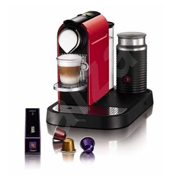 NESPRESSO Krups Citiz&Milk red - Automatic coffee machine