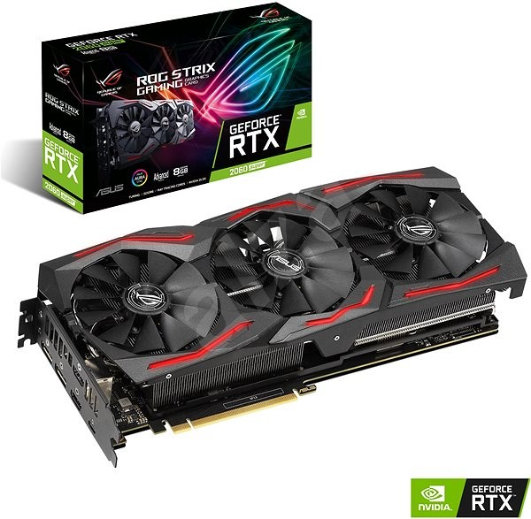 ASUS ROG STRIX GAMING GeForce RTX2060S A8G - Graphics Card