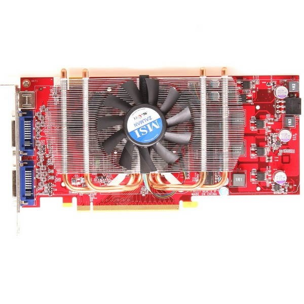 MSI NX8800GT Zilent - Graphics Card