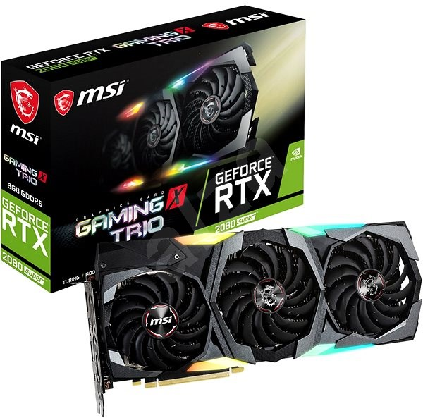MSI GeForce RTX 2080 Super GAMING X TRIO - Graphics Card