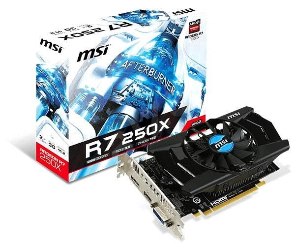 MSI 250X R7 2GD5  - Graphics Card
