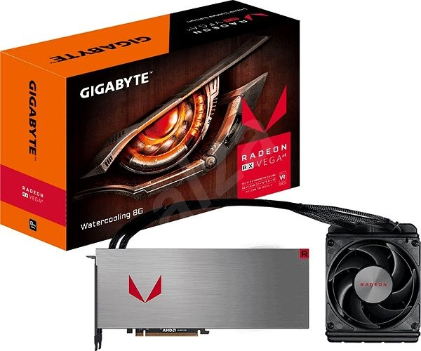 GIGABYTE RX VEGA 64 Watercooling 8G - Graphics Card