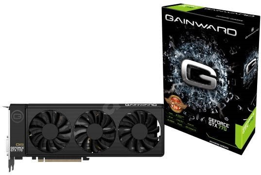 2 GB GAINWARD GTX770 DDR5 Golden Sample  - Graphics Card