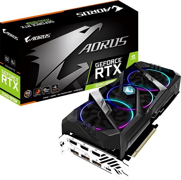 GIGABYTE GeForce RTX 2080 SUPER AORUS 8G - Graphics Card