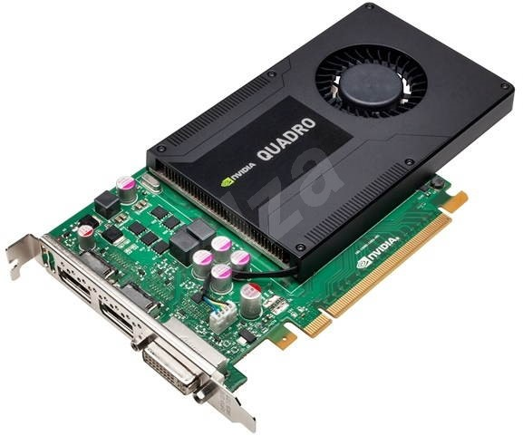 HP NVIDIA Quadro Graphics PLUS K2000  - Graphics Card