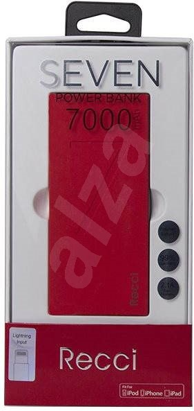 Epico RECCI 7000mAh red - Powerbank