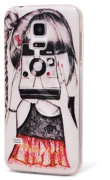 Epic Girl With A Camera for Samsung Galaxy S5 mini - Protective Case