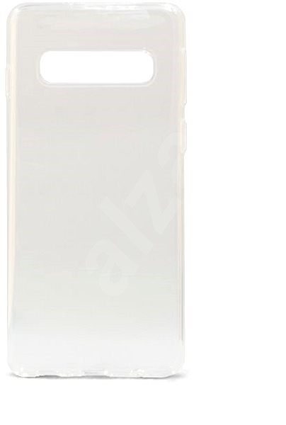 Epico Ronny Gloss Case for Samsung Galaxy S10 White Transparent - Mobile Case